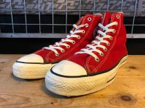 converse ALL STAR HI (レッド) USED