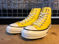 converse ALL STAR J HI (イエロー) USED