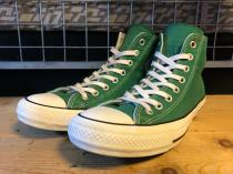 converse ALL STAR 100 COLORS HI (グリーン) USED