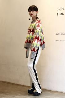 tiit tokyo 19AW lettering knit