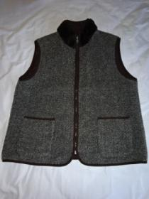1990's Switched Design Zip-Up Vest