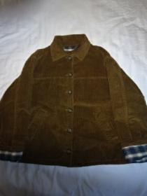 1980~90's Big Silhouette Corduroy Short Jacket