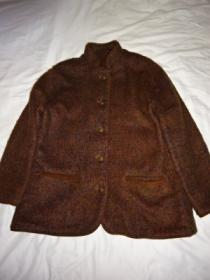 1980~90's Piping Design Stand Collar Jacket