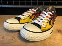 converse ALL STAR FLAME OX (ブラック) USED