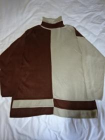 1980's Switched Design Turtle Neck Sweater