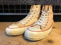 converse ALL STAR HI (ホワイト) USED