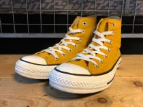 converse ALL STAR HI (マスタード) USED