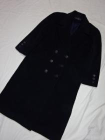 1990's Design Double Breasted Long Coat