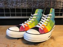 converse ALL STAR TIEDYERAINBOW HI (レインボー) USED