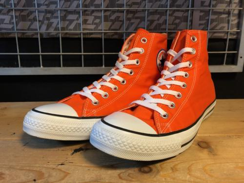 converse ALL STAR IVA CURETEX HI (オレンジ) USED写真