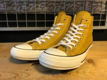 converse ALL STAR 100 COLORS HI (ゴールド) USED