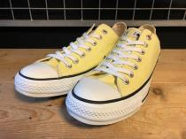 converse ALL STAR COLORS OX (パステルレモン) USED
