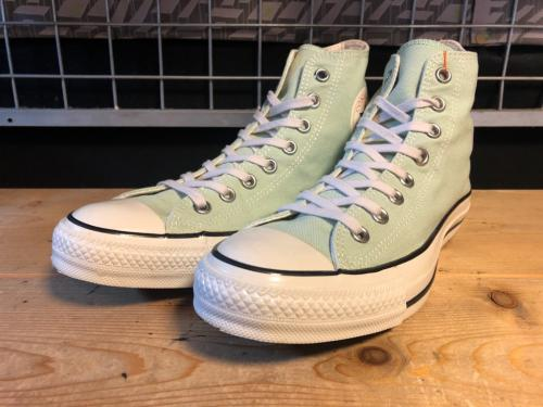 converse ALL STAR LOCALIZE HI (パステルグリーン) USED写真