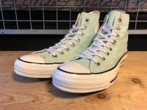 converse ALL STAR LOCALIZE HI (パステルグリーン) USED