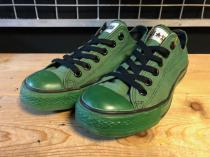 converse ALL STAR ALLINCOLOR OX (グリーン) USED