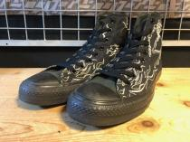 converse ALL STAR RAD HI (ブラック) USED