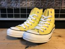 converse ALL STAR HI (レモンドロップ) USED