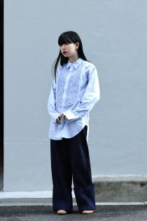soe 20SS Denim Wide Pants