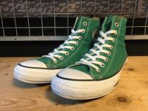 converse ALL STAR SP COLORS HI (グリーン) USED