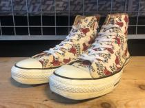 converse ALL STAR HI CHICAGO BULLS (ホワイト/レッド) USED