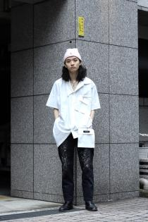 SYU. HOMME/FEMM  2020 Spring Summer Collection -Change- ・Change short sleeve shirts