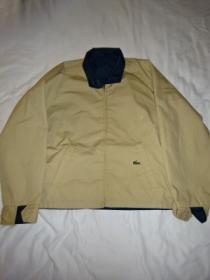 "1970~80's Reversible Zip-Up Jacket ""LACOSTE"