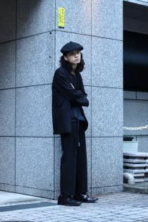 [ー]Minus 2020 Spring Summer Collection ・SMOKING JACKET ・ADJUSTDR TROUSERS