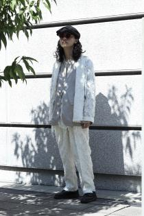 "MASU 2020 Spring Summer Collection ""ERROR"" ・JACQARD PAJAMA BLOUSON ・JACQARD PAJAMA PANTS"