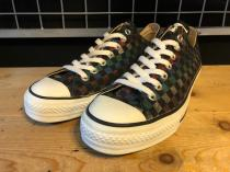 converse ALL STAR FASHION LAME OX (ラメチェッカー) USED