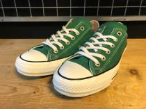 converse ALL STAR 100COLORS OX (グリーン) USED