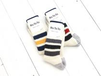 RoToTo(ロトト)COARSE RIBBED OLD SCHOOL SOCKS (R1255)