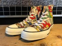 converse ALL STAR COMIC HI (コミック) USED