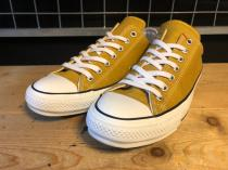 converse ALL STAR 100 COLORS OX (ゴールド) USED