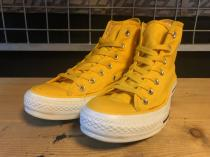 converse ALL STAR UPSIDE-MONO HI (イエロー) USED