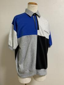 1990's Switched Design Polo Shirt