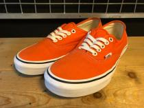 VANS AUTHENTIC (オレンジ) USED