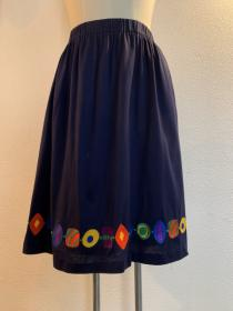 1990's Embroidery Design Skirt