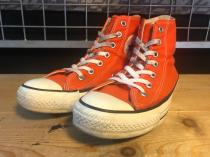 converse ALL STAR HI (オレンジ) USED