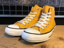 converse ALL STAR COLORS HI (ゴールド) USED