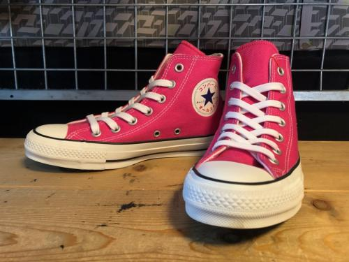 converse ALL STAR 100 KATAKANA HI (ピンク) USED写真
