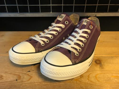 converse ALL STAR OX (ディープパープル) USED写真