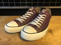 converse ALL STAR OX (ディープパープル) USED