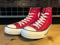 converse ALL STAR HI (エレクトリックピンク) USED