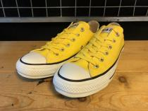 converse ALL STAR COLORS R OX (イエロー) USED
