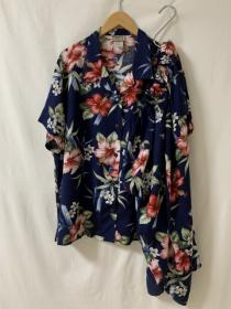 1990's Big Silhouette Flower Pattern Summer Set-Up