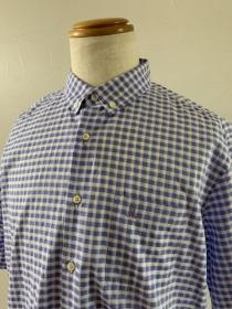 1990's Design Check Button-Down Shirt