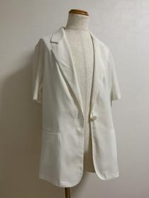 1990's Big Silhouette Summer Tailored Jacket