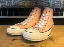 converse ALL STAR 100 COLORS HI (ピーチ) USED