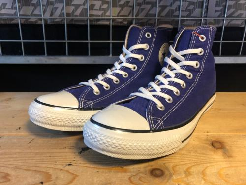 converse ALL STAR COLORS CLASSIC HI (コバルトブルー) USED写真