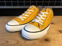 converse ALL STAR COLORS OX (ゴールド) 新品